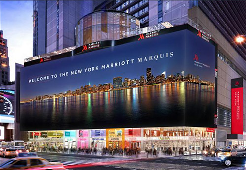 Marriott Marquis New York, NY Time Square