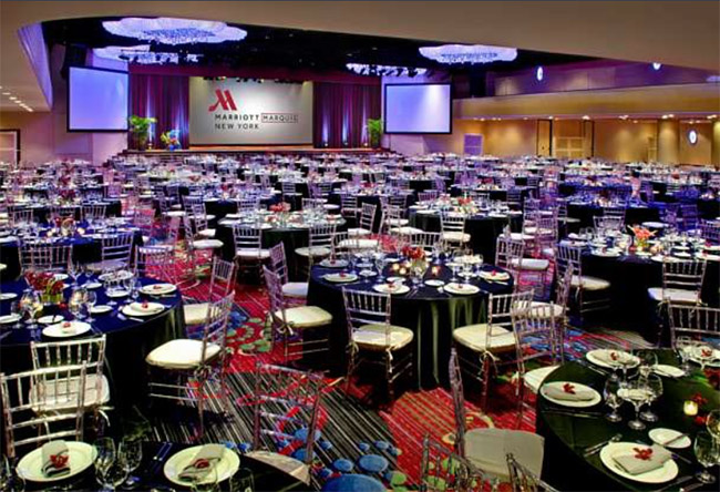 Marriott Marquis New York, NY Gala